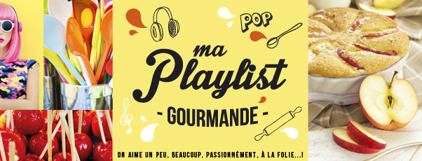 Ma Playlist Gourmande Recettes - la pomme Ariane