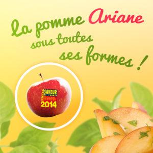 """Concours de recettes """"la pomme Ariane sous toutes ses formes"""""""