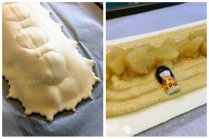 Galette Pommes au Cidre et Crème d'Amande au Rhum Negrita