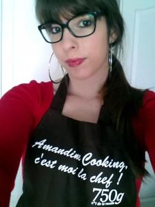 amandine cooking