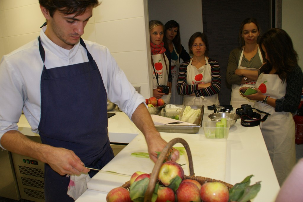atelier culinaire pomme ariane
