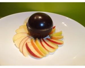Pommes en coque chocolat