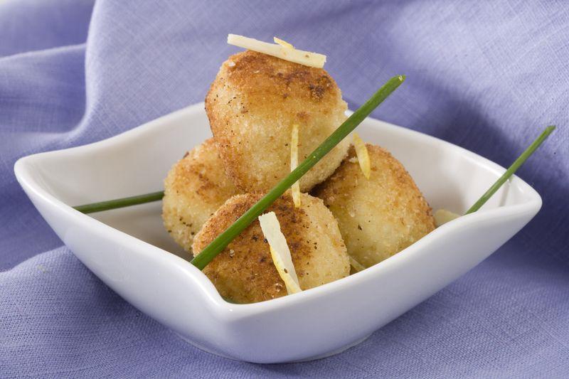 Beignets de pomme Ariane et pomme de terre