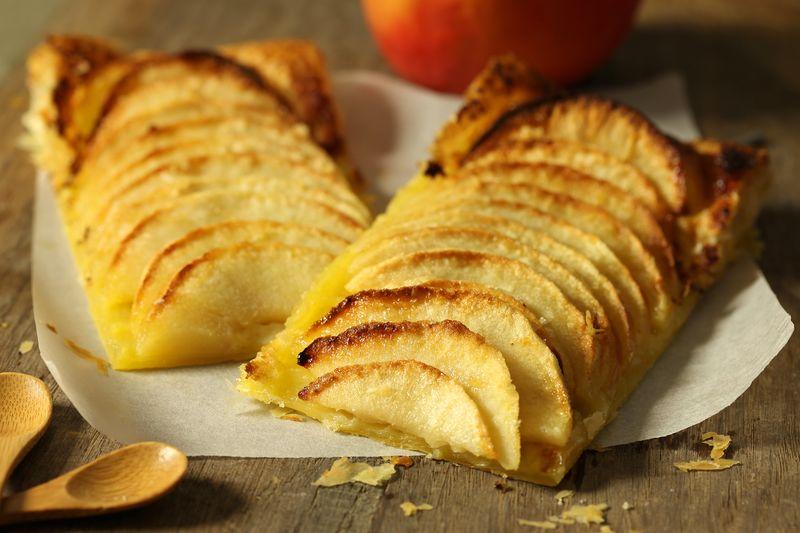 Tarte aux pommes Ariane