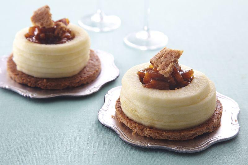 Gâteau de pommes Ariane crues et cuites