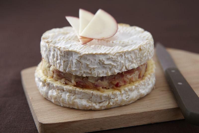 Camembert farci à la pomme Ariane