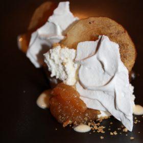 Crémets d'Anjou aux pommes Ariane Tatin