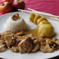 Poulet Saute Aux Noix De Cajou Et Pomme Ariane