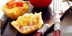 Quiche pomme Ariane, magret de canard fumé, camembert, cidre brut…