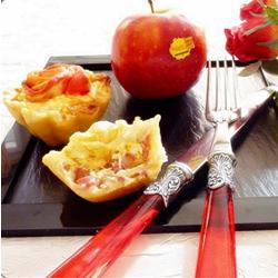 Quiche pomme Ariane, magret de canard fumé, camembert, cidre brut...