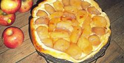 Tarte Tatin aux pommes et sa gelée de pommes