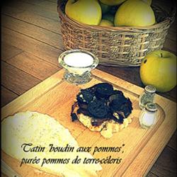 """Tatin """"Boudin Aux Pommes"""", Purée Pommes De Terre-Céleris"""