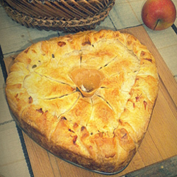 Tourte Des Bois Aux 2 Pommes, Champi' Et Foie Gras