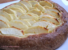 Galette de pérouge aux pommes | Ariane