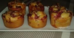 Muffins pomme fraise
