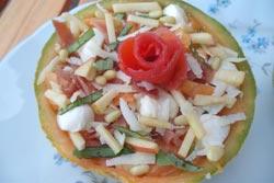 Salade De Melon A L Italienne Recette Entrees Ariane