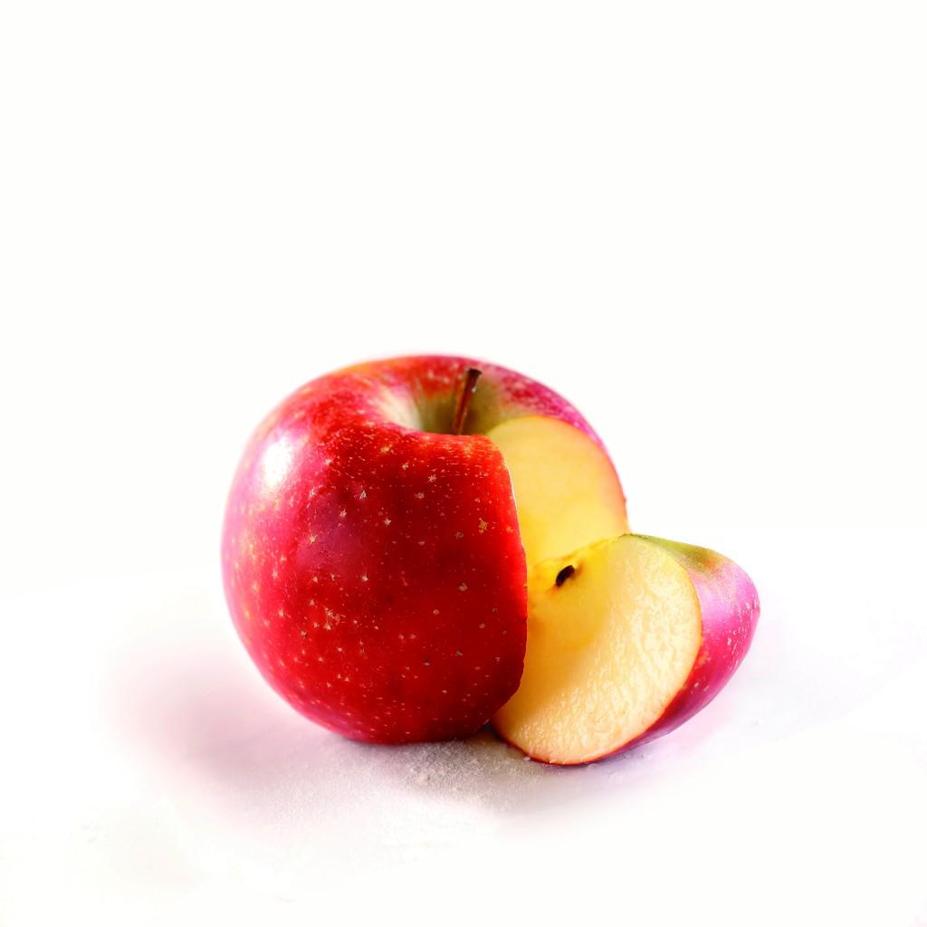 Pomme + quartier