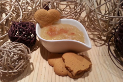 Crumble pomme, coing et cannelle