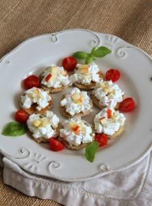 toast pomme fromage - apéritif