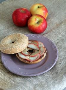 Bagel aux pommes