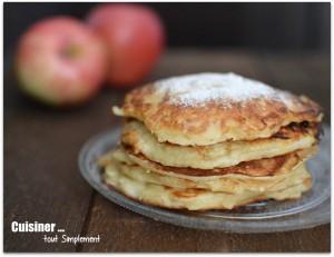 pomme pancakes