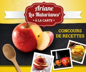 concours recettes Ariane à la carte