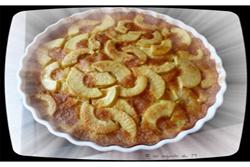 Gâteau aux pommes façon tarte