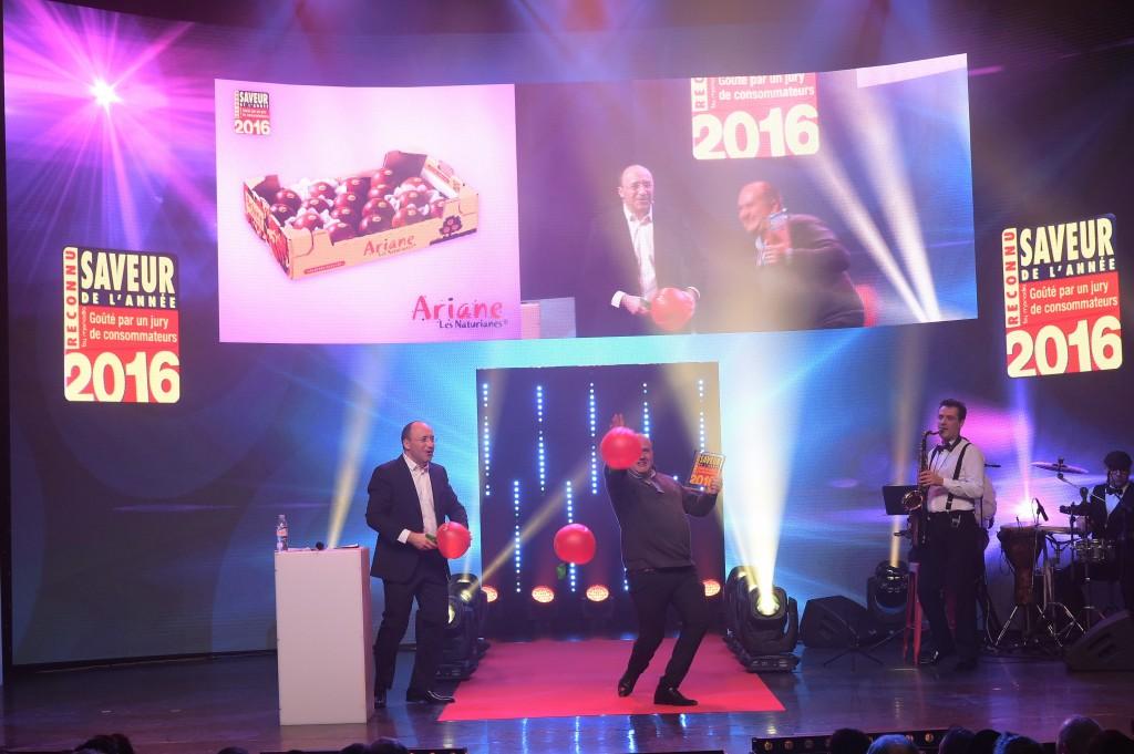 Ariane élue Saveurs de l'année 2016 !