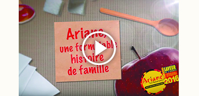 LES VERGERS D'ARIANE EN VIDEO !