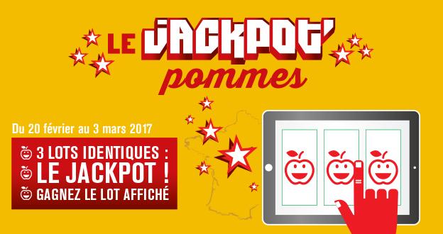 Jouez AU jackpot'pommes